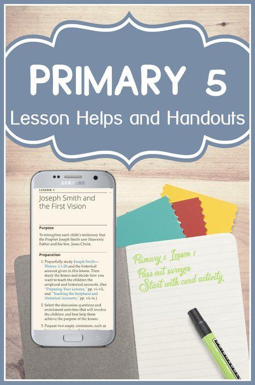 Sunday school lesson manuals.