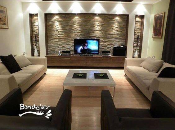 Sala de tv fachaleta pinterest salas de estar - Salas de estar decoracion ...