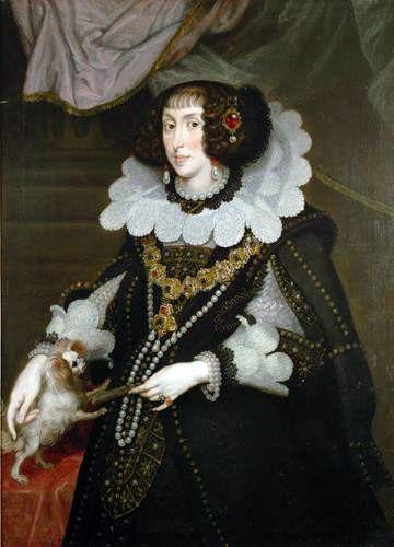 Archduchess Maria Anna of Austria, Electress of Bavaria, by Joachim von Sandrart, 1643: