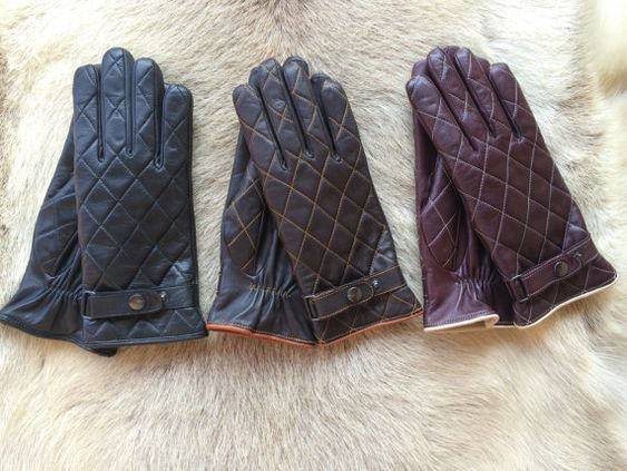 Luvas de couro do inverno dos mulheres by leathergloves4u on Etsy