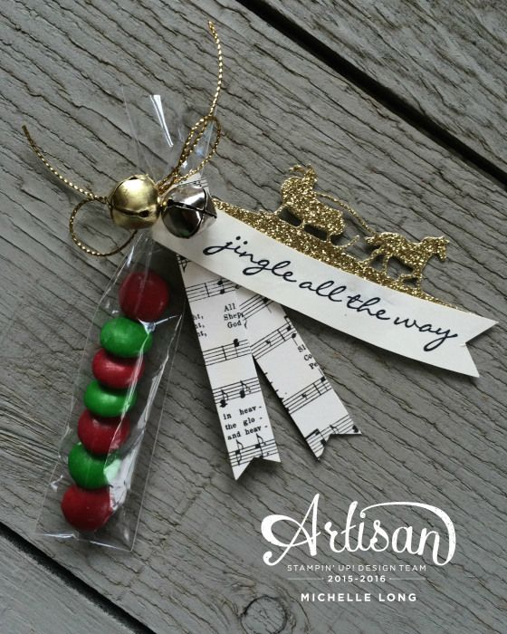 Sweet Little Treats made with the Jingle All The Way Bundle www.stampin365.com