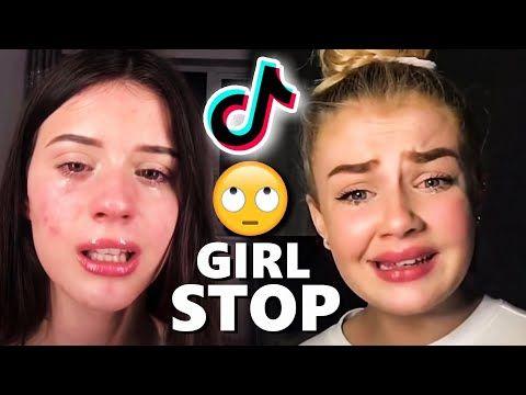 These Tiktok Girls Are Toxic Youtube Toxic Friends Youtube Girl