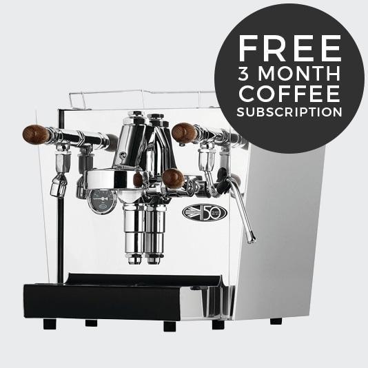 Fracino Classico Coffee Machine FREE 3 month coffee