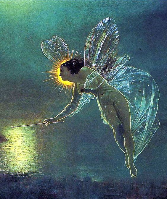 John Atkinson Grimshaw (English, 1836-1893). Spirit of the Night (detail), 1879