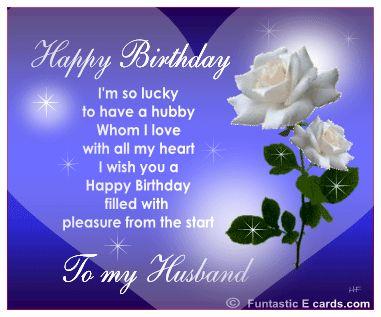 Bildergebnis für Funny Romantic Birthday Wishes For Husband