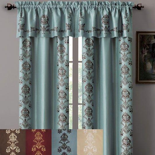 Curtains Ideas Annas Linens Curtains : Grandeur Embroidered Lined Panel  $30.00 @ Annau0027s Linens | Home