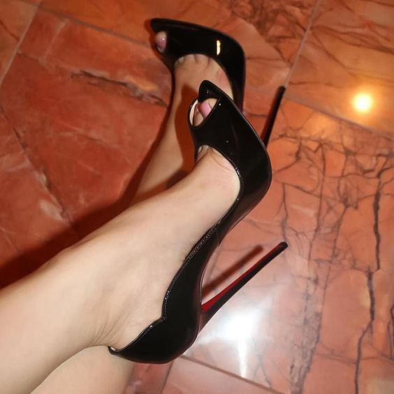 high heels skor