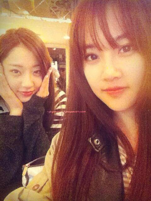 KyungRi and Yumi