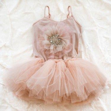 Blush Ballerina Pink & Tulle Tutu ruffle upon ruffle. The Prettiest.