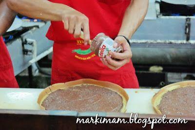 Markimam!!: Martabak Toblerone & Nutella (Pecenongan 65A)