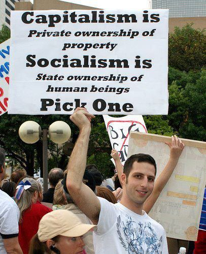 Image result for capitalism is over, socialism here