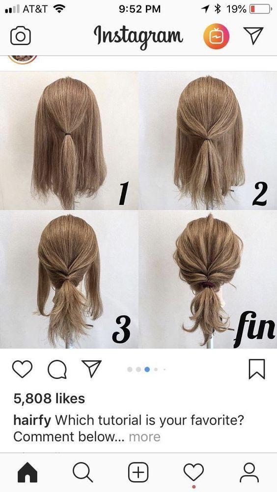 Pricheski Dlya Detej Pricheski Dlya Detej Hairstyleforworklong Hochsteckfrisuren Kurze Haare Haar Styling Medium Haare