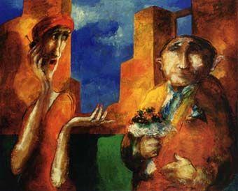 Pintora boliviana