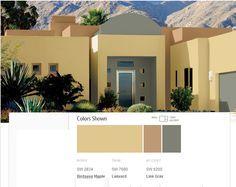 Sherwin Williams Desert Colors