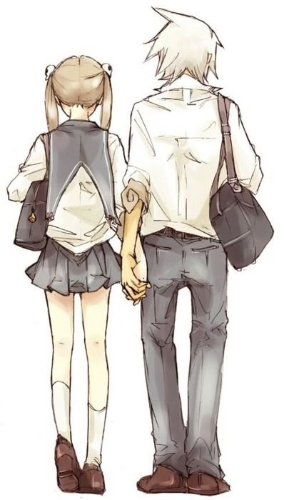Anime Characters Holding Hands : Ship it so cute and holding hands on pinterest