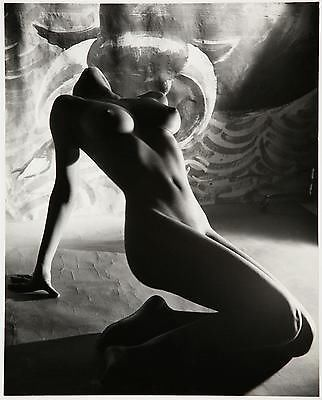 Fabulous large format fine art nude photograph by Peter Basch vintage erotica