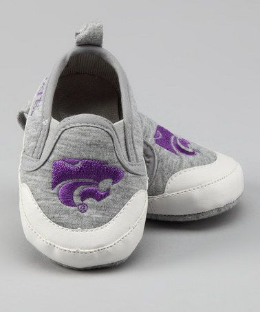 Take a look at this Gray Kansas State University Booties by Campus Footnotes on #zulily today!