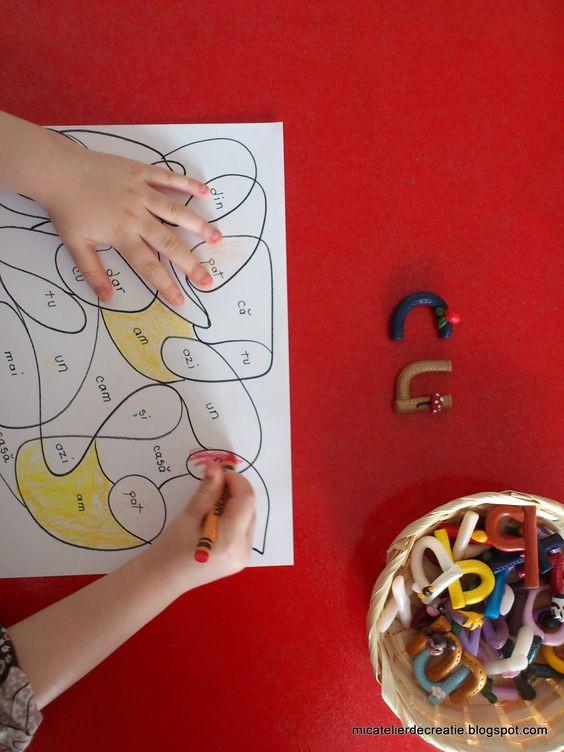 """Mic atelier de creatie: """"Mozaic"""" si """"Word Hunting"""""""