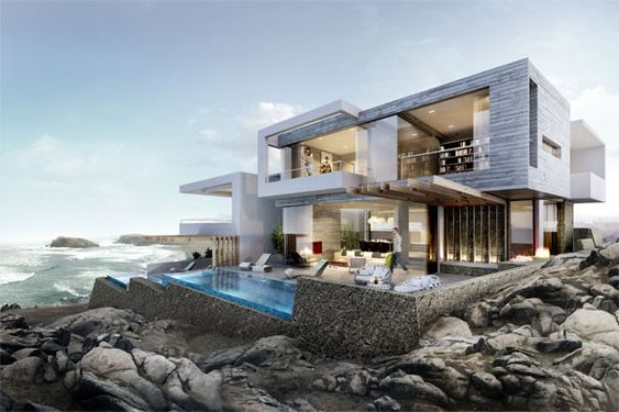 Las Palmeras Beach House by Greg Wright Architects