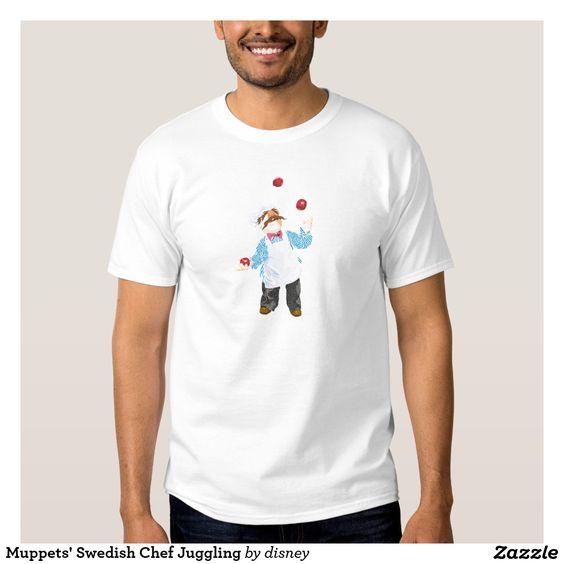 El cocinero sueco de los Muppets que hace juegos Poleras. Regalos, Gifts. #camiseta #tshirt