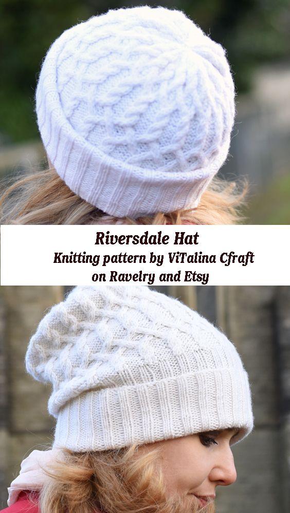 Riversdale Hat Hat Knitting Patterns Hat Pattern Knitting