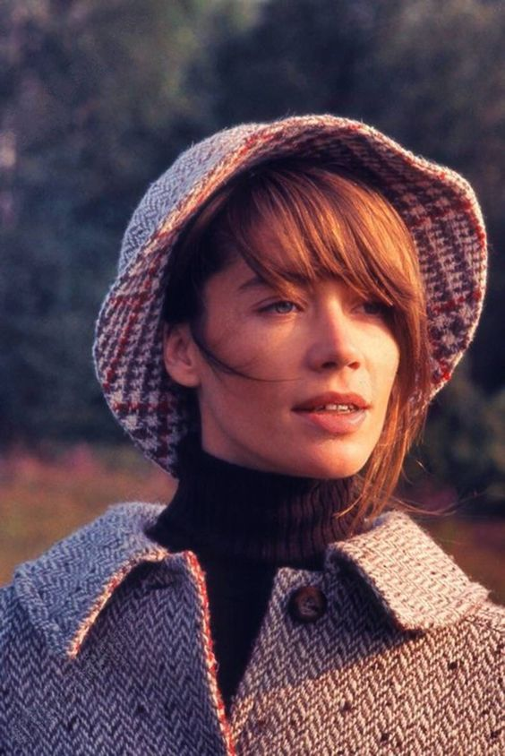 Françoise Hardy in Clairefontaine. Photo by Herbst in 1969: