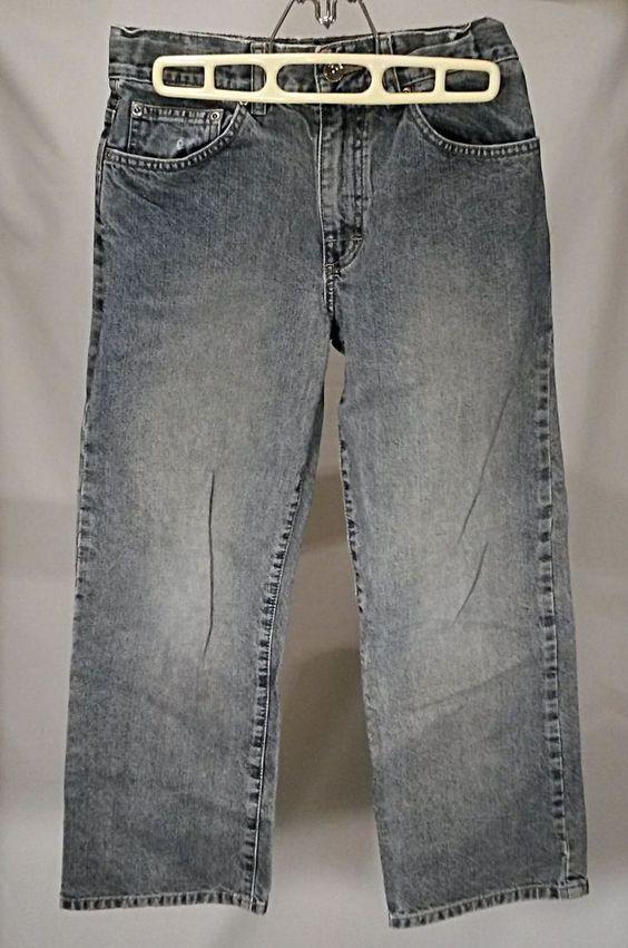 """Boys / Young Men Tony Hawk Sz 12 Denim Jeans 27"""" Waist 24"""" Inseam #TonyHawk #ClassicStraightLeg #Everyday"""