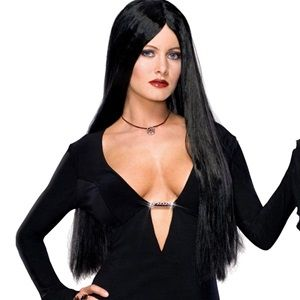Deluxe Adult Morticia Wig
