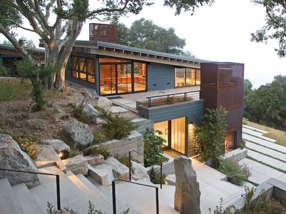 House Ocho, Santa Lucia Preserve, Carmel, California