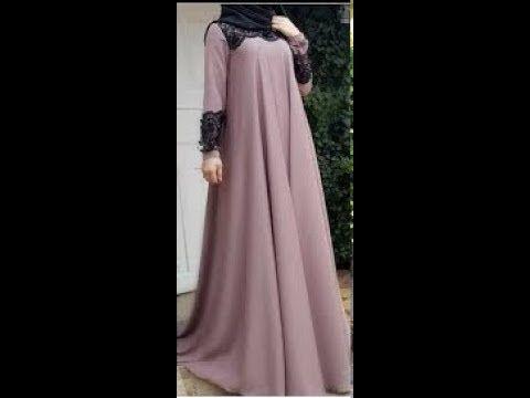تفصيل و خياطة عباية كلوش بطريقتين مختلفتين و بالتطبيق على القماش حصريا على قناتي Youtube Maxi Dress Dresses Fashion