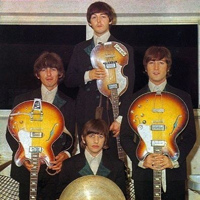 Image result for beatles guitars