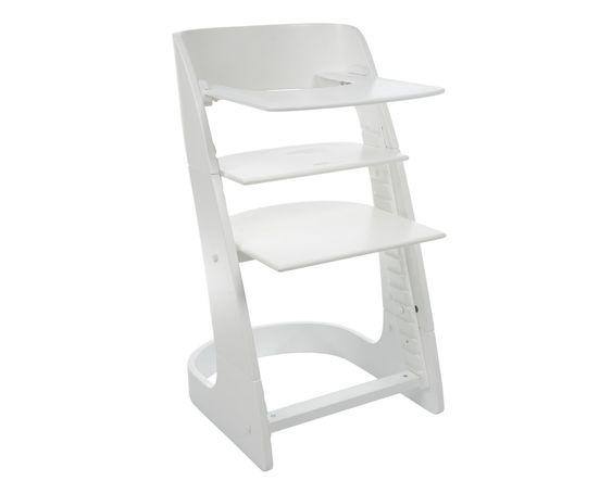 Hochstuhl Kinderstuhl Smartchair 2in1 Holzfarbe Weiss Buche Baby High Chair Chair Home Decor