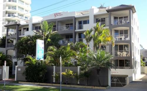 Paradis Pacifique Maroochydore Just 2 minutes' walk from Maroochydore Beach, Paradis Pacifique features apartments offering a large balcony with ocean or garden views. The property boasts a heated outdoor pool and BBQ facilities.