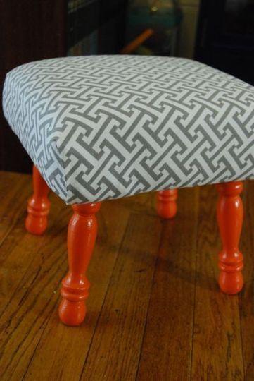 Now I wish I had something to upholster....