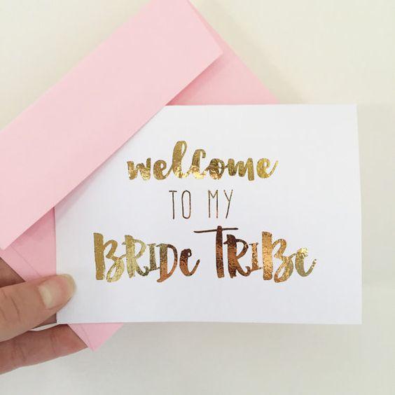 Gold Foil Bridesmaid Proposal Card | Will You Be My Bridesmaid | Bridal Party…