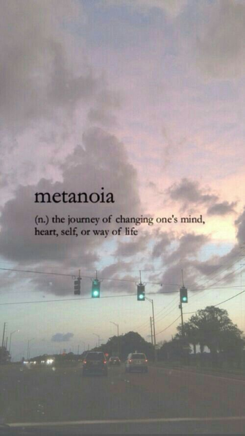 Word Aesthetic Metanoia Words Wallpaper Tumblr Phone Iphone Background Unique Rare Pretty Unheard Of Meaningful Deep G Unusual Words Rare Words Uncommon Words