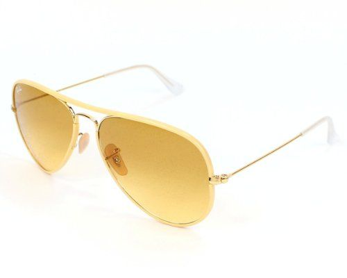 ray ban yellow aviator sunglasses  yellow · ray ban men's 0rb3025jm 001/x458 iridium aviator sunglasses