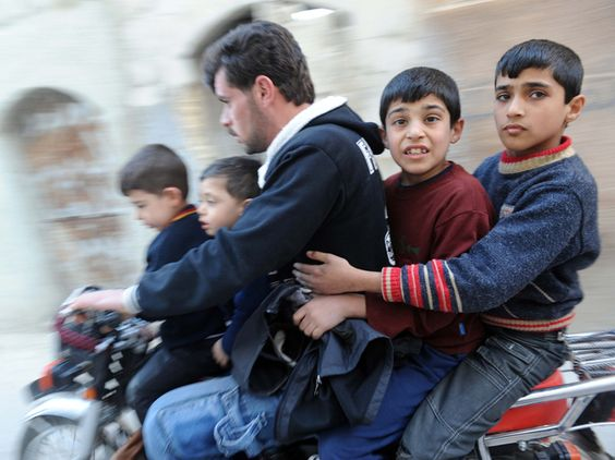 """""""Fighting has forced more than 1.5 million Syrians to move"""" - NPR.     These faces should be on the news, nightly."""