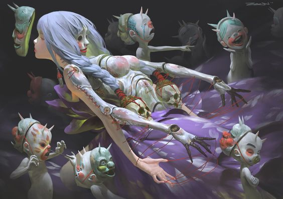 Les incroyables digital paintings du malaisien Zeen Chin: