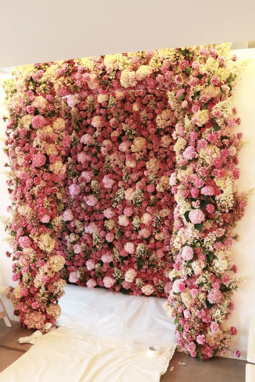 mur floral podium and oscar de la renta on pinterest. Black Bedroom Furniture Sets. Home Design Ideas
