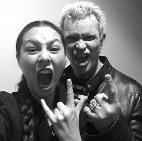 Billy And China Chow Billy Idol Idol British American