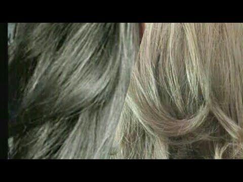أشقر رمادي فاتح أشقر رمادي بصبغة لوريات Youtube Hair Color Long Hair Styles Hair