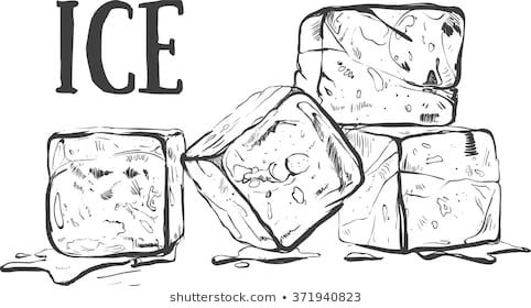hand drawn sketch ice cube eco food vector illustration ice cube on the white background organic illustrat ice cube drawing how to draw hands ice drawing hand drawn sketch ice cube eco food