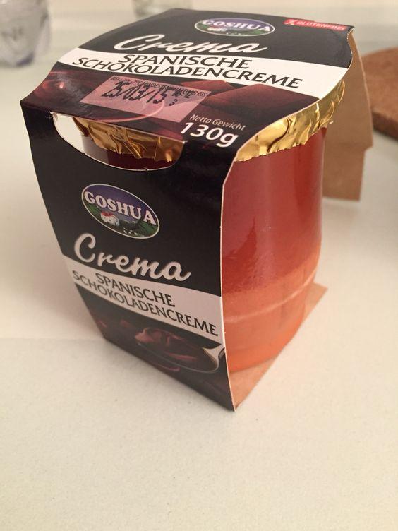 Spanische Schokoladencreme von Goshua aus den Pyrenä