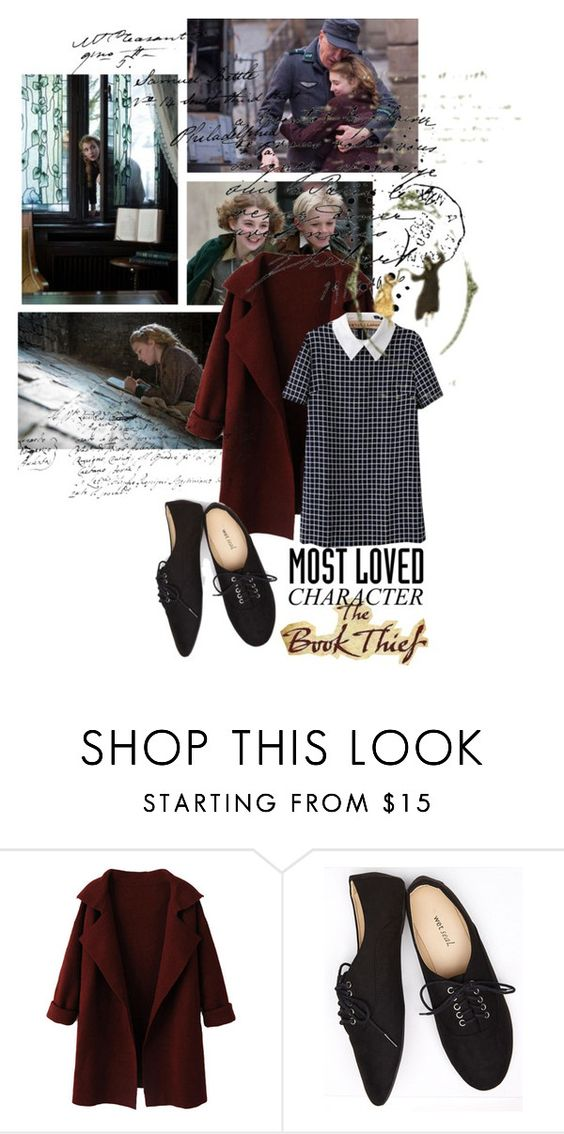 """""""liesel meminger, the book thief"""" by opheliaifeelya ❤ liked on Polyvore featuring WithChic and Wet Seal"""