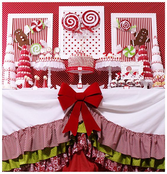 """CANDY CHRISTMAS / Christmas/Holiday """"Candy Christmas & Hot Cocoa Bar"""" 