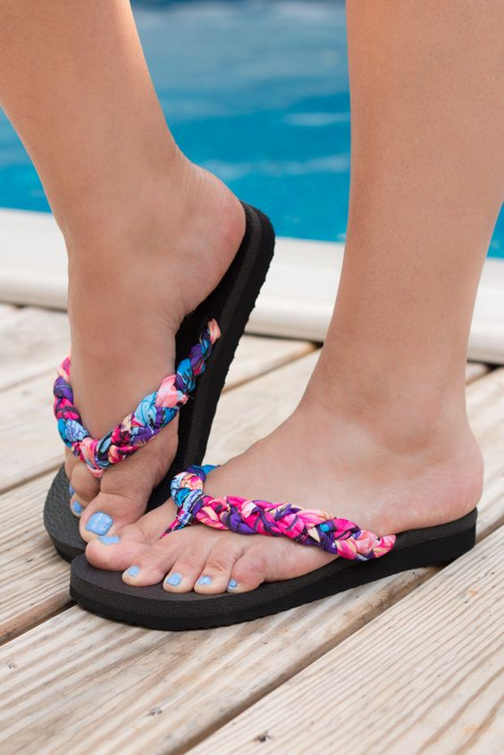 Stylish Summer Colorful Sandals