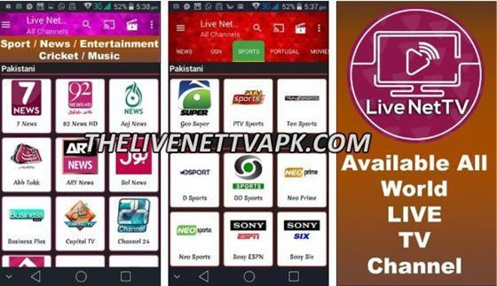 Live Net Tv App Download Latest Version Free 2019 Tv App Live Tv Streaming Online Tv Channels