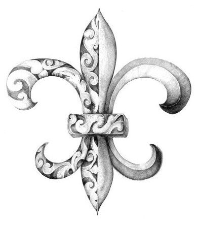Fleur De Lis Tattoo Designs  The Amazing History | TATTOOS NANFA - fleur de lis tattoos