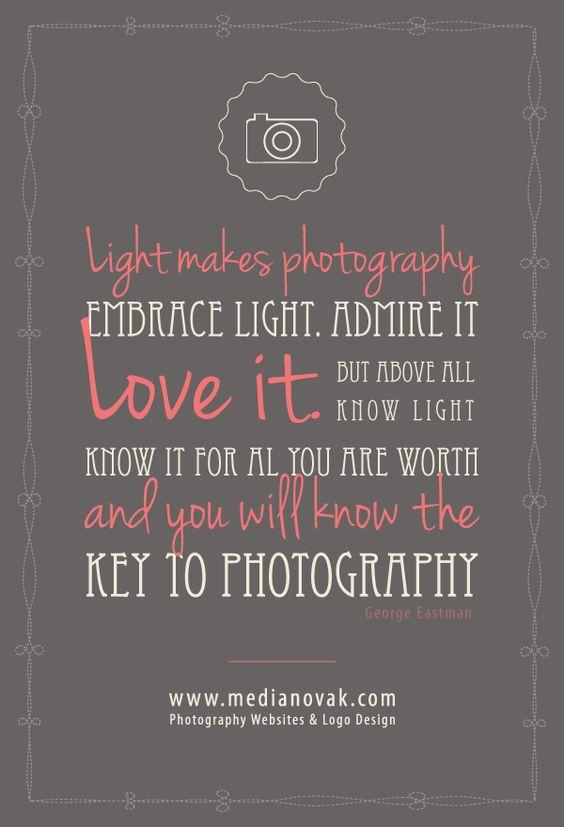 Inspirational Quotes Websites: Photography Websites & Logo